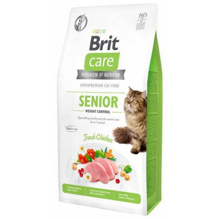 Brit Care Cat Grain Free Senior Weight Control 400g